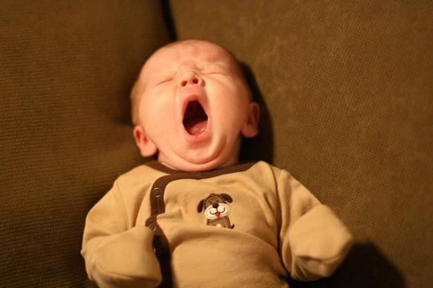 Babies Yawning 17