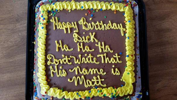 Dumbest Cake Decorators In The History Of Decorators 1