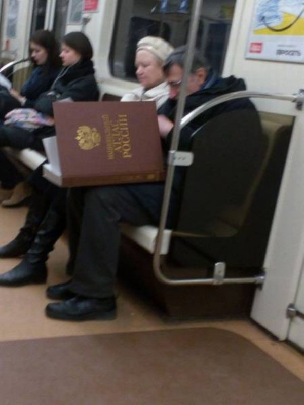 Hilarious Things People Saw While Riding The Subway_020
