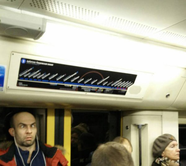 Hilarious Things People Saw While Riding The Subway_025