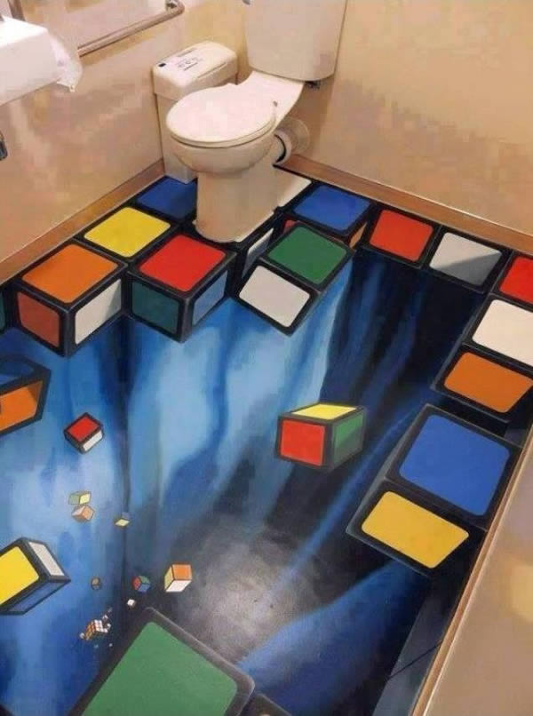 3D Floor Designs That'll Motivate You To Get One Done (8)