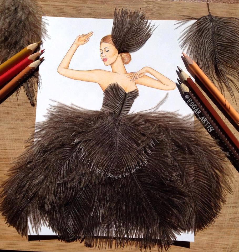 Fashion Design 9 Foto Gambar Desain Baju Ini Bakal Bikin Kamu