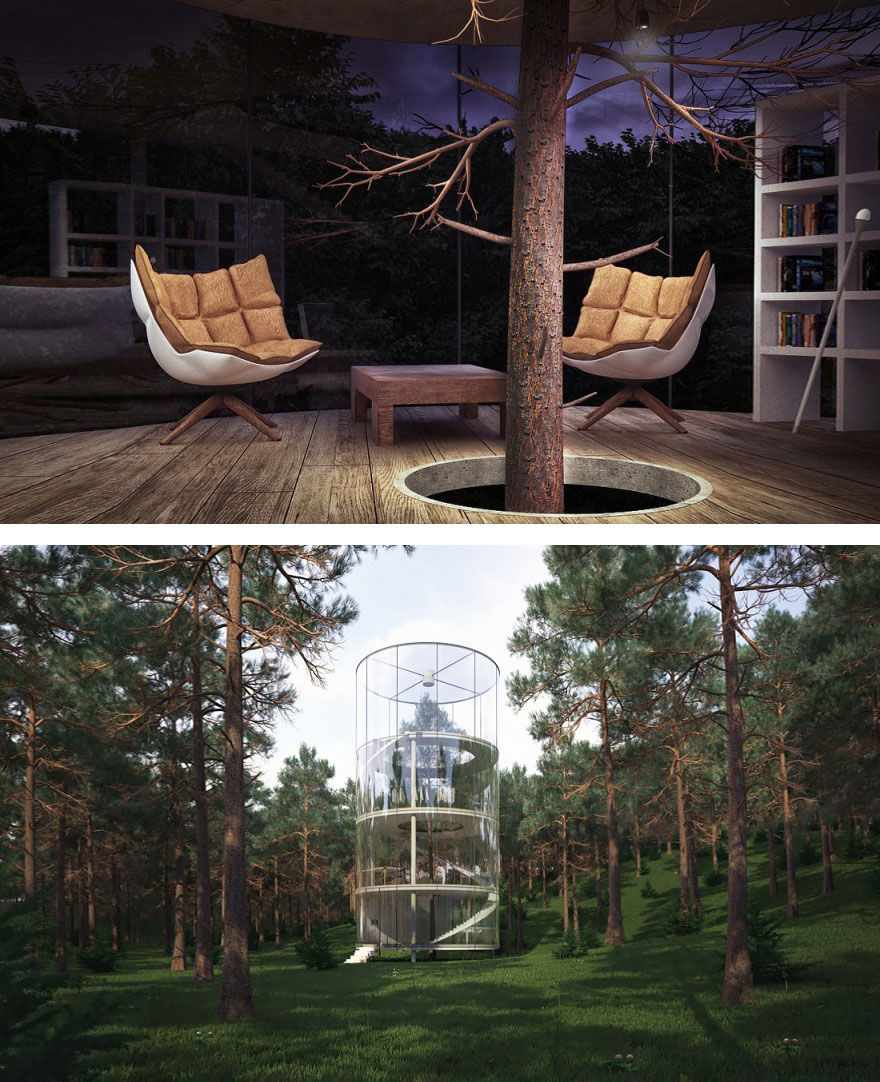 Architects Who Did NOT Destroy Nature To Make Buildings (10)