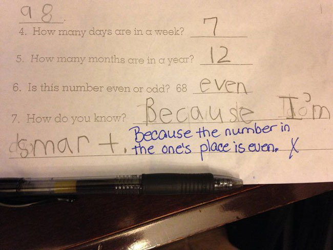 Exam Answers That Wrong But Pure Genuis (1)