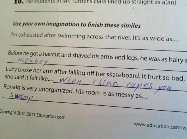 Exam Answers That Wrong But Pure Genuis (26)