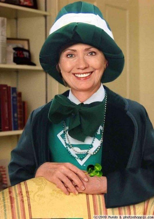 Hilarious Ways Hillary Clinton Was Photoshopped (15)