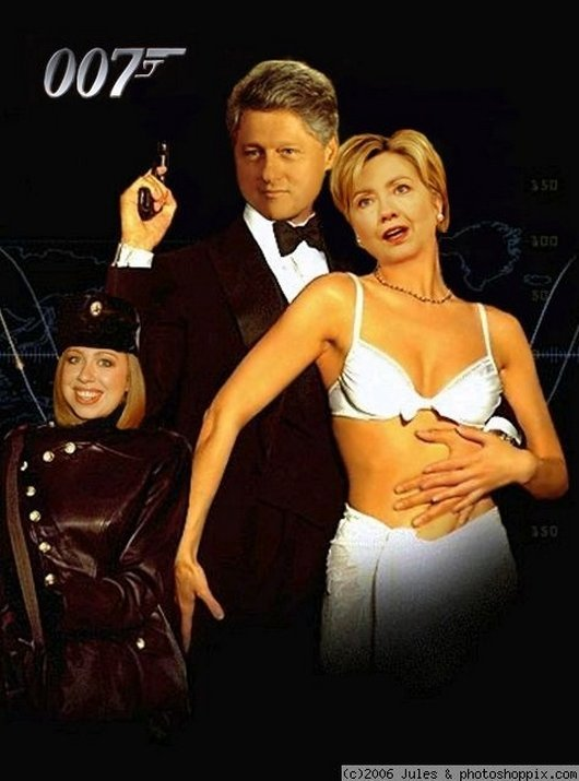 Hilarious Ways Hillary Clinton Was Photoshopped (16)