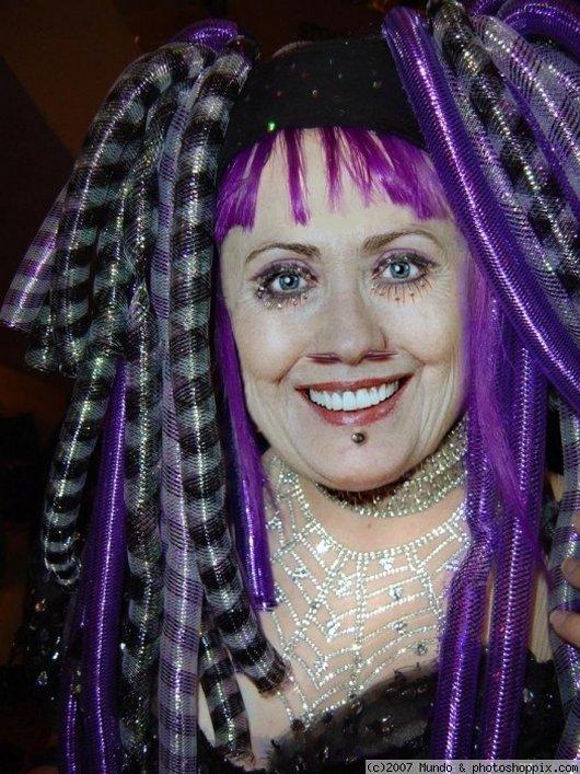 Hilarious Ways Hillary Clinton Was Photoshopped (18)