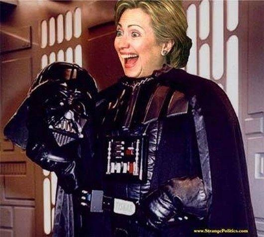 Hilarious Ways Hillary Clinton Was Photoshopped (2)