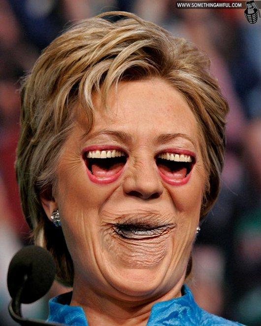 Hilarious Ways Hillary Clinton Was Photoshopped (22)