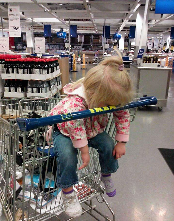 Kids Who Mastered The Art Of Sleeping ANYWHERE (14)