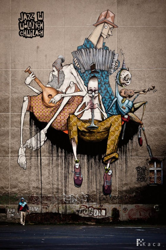 Of The Craziest Street Wall Artwork From Around The World_022
