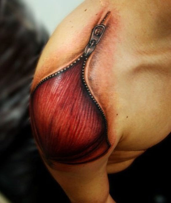 Tattoos That Are Way Too Realistic (4)