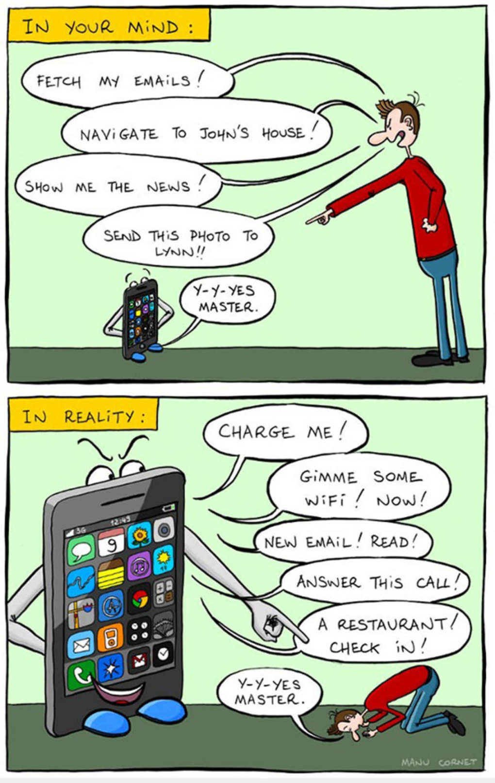 These Pictures Sum Up The Smartphone Addiction (10)