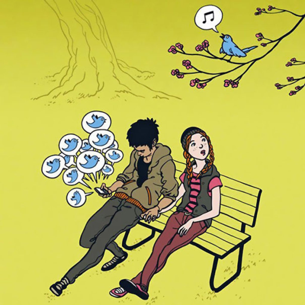 These Pictures Sum Up The Smartphone Addiction (2)