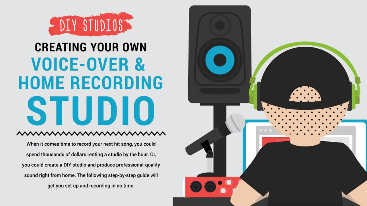 How To Create Your Own Home Recording Studio