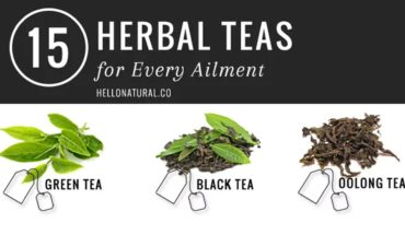 15 Kinds Of Herbal Teas And Their Benefits