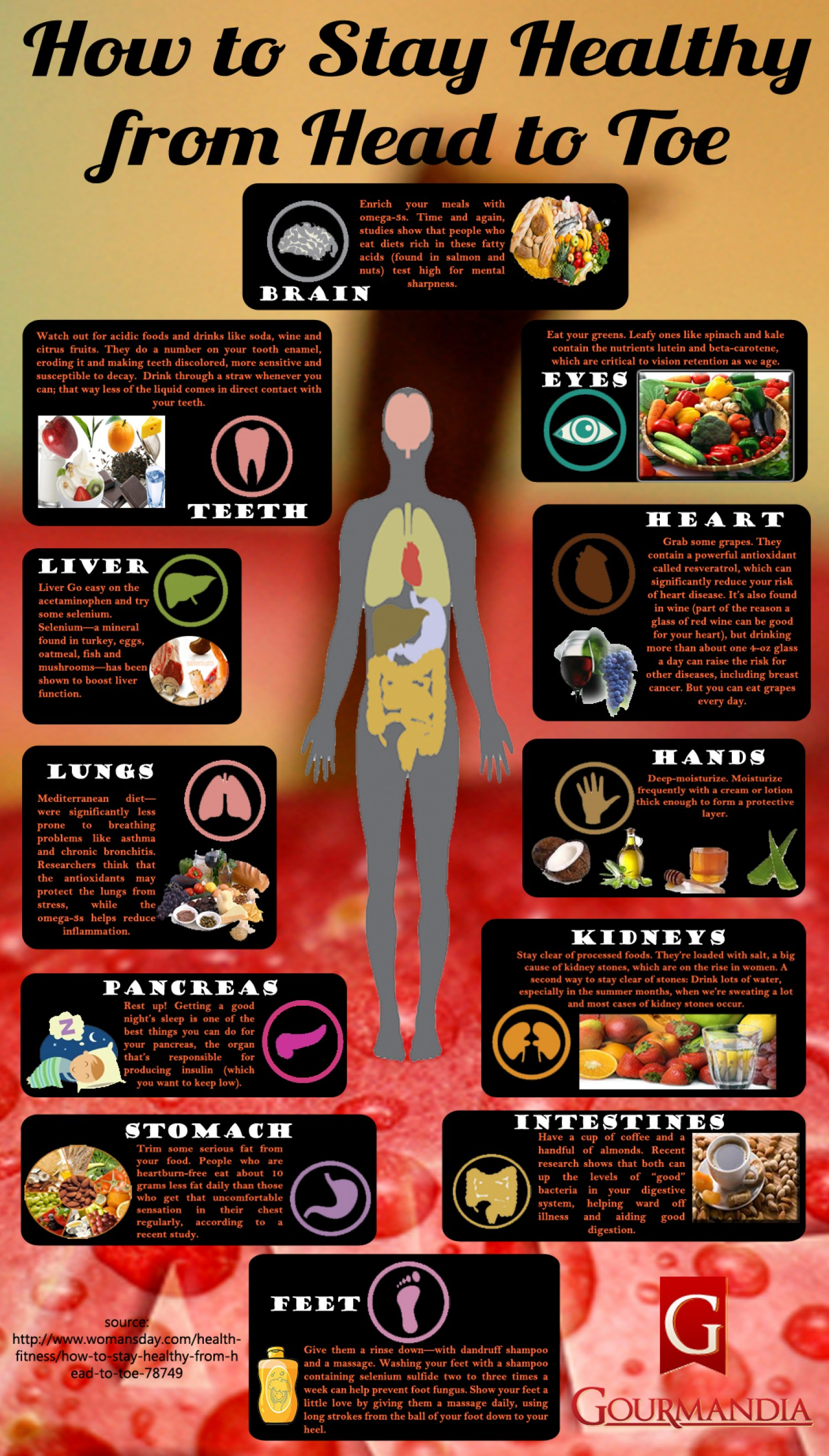 Here's How You Can Take Care Of Your Body - Infographic