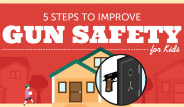 How To Save Your Children's Lives - Gun Safety - Infographic