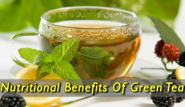 Nutritional Benefits Of Green Tea - Infographic