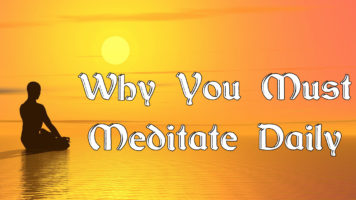 Why You Must Meditate Daily - Infographic