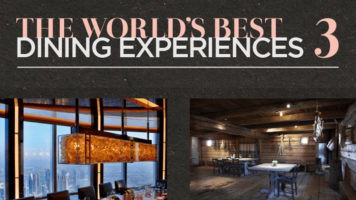 11 Record Breaking Dinner Experiences - Infographic