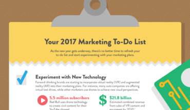 6 Marketing Hacks For 2017 - Infographic
