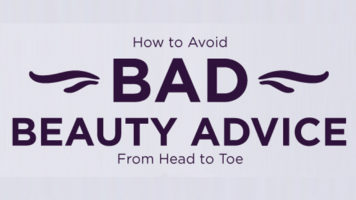 8 Popular Beauty Hacks That Are Actually Wrong! - Infographic