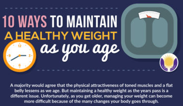How To Stay Fit While Aging - Infographic