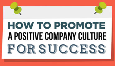 The Key To Success – A Positive Company Culture - Infographic