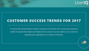 The Latest 2017 Trends Of Customer Success - Infographic