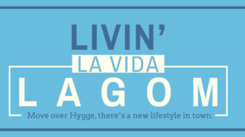 A Guide To Living The Lagom Life - Infographic