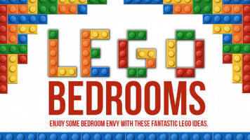Creative LEGO Bedroom Ideas - Infographic