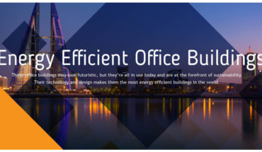 Office Buildings That Sustain Energy - Infographic
