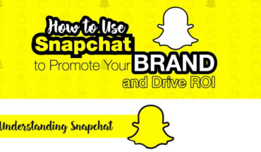 Snapchat is Great For Brand Promotions - Infographic