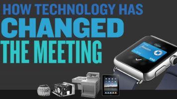 The Evolution Of Meetings Due To Technology - Infographic