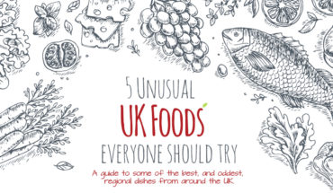 Tourist Guide: 5 Must Try UK Foods - Infographic