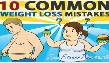 Weight Loss Mistakes That Are Most Commonly Made - Infographic