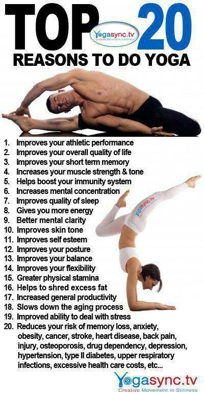 Why You Must Do Yoga - Infographic