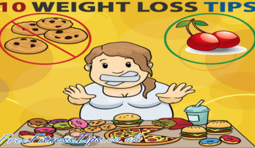 10 Simple Ways To Lose Weight - Infographic GP