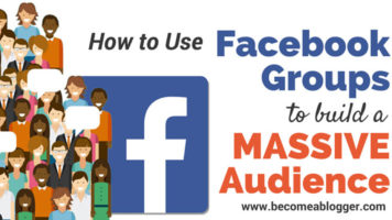 Building A Massive Audience Using Facebook Groups - Infographic GP