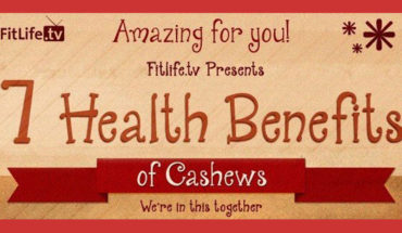 Here's Why Cashew Nuts Are Good For Your Health - Infographic GP