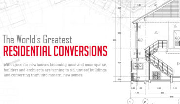 Top 5 Best Residential Conversions In The World - Infographic GP