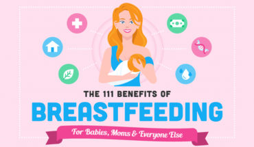 111 Ways In Which Breastfeeding Benefits The Mom And Her Baby - Infographic