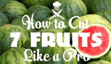 A Guide To Cutting Fruits Like A Pro - Infographic