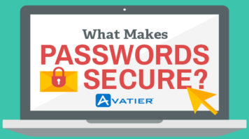 A Guide To Keeping Your Password Safe And Secure - Infographic