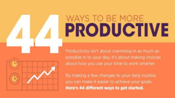 Life Hacks That Will Make You More Productive - Infographic