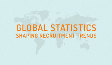 Recruiter's Guide - Global Statistics And Recruitment Trends - Infographic