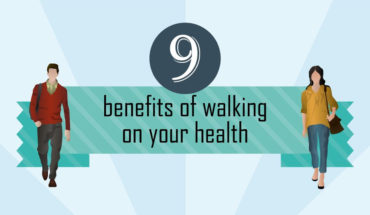 This Is How Walking Will Improve Your Health - Infographic