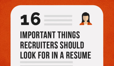 What Recruiters Should Look For In A Resume - Infographic